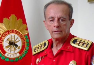 Bomberos de Peru designaron nuevo comandante general