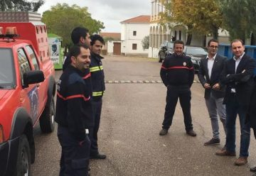 Nuevo vehículo de Bomberos Voluntarios de Zarza Capilla