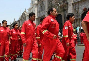Gobierno aprobó ley en beneficio de los bomberos voluntarios