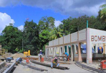 Avanza remodelación en estaciones de bomberos