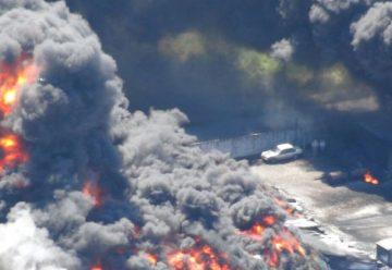 Un herido grave en explosión de fábrica de pintura