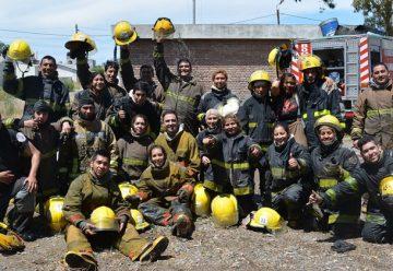 Aspirantes a bomberos realizaron sus ejercicios prácticos finales