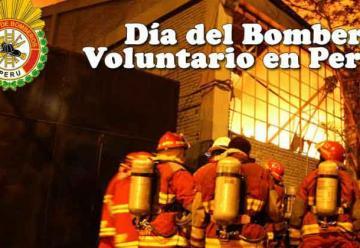 Dia del Bombero en Peru