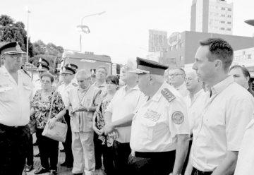Bomberos de Lomas celebraron sus 107 años de servicio