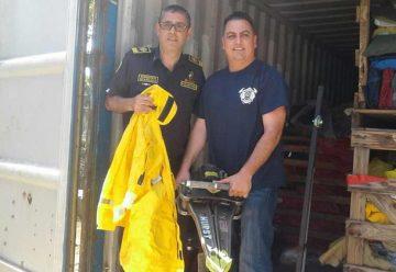 Bomberos de Nicaragua cuentan con nuevos equipos