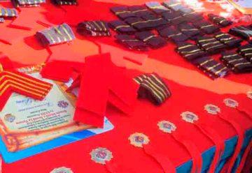 Bomberos de Aragua juramentaron nuevos integrantes