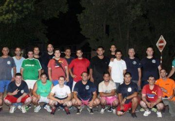 Bomberos de Pilar buscan mejorar su rendimiento
