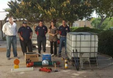 Bomberos Voluntarios de Andalgalá recibieron donaciones