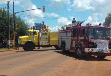 Bomberos de Itapúa endurecen postura y cierran ruta