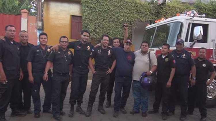 Bomberos Voluntarios de Nindirí recibe donación