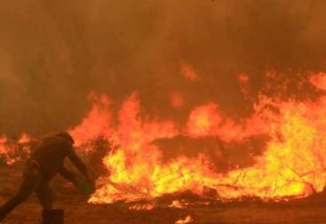 Incendio en Parral se mantiene sin control
