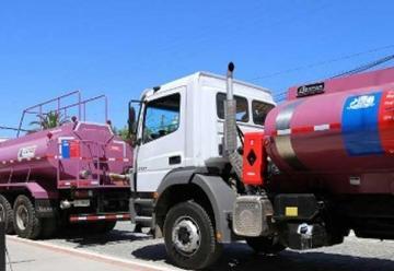 Bomberos de la Región reciben tres nuevos carros aljibes