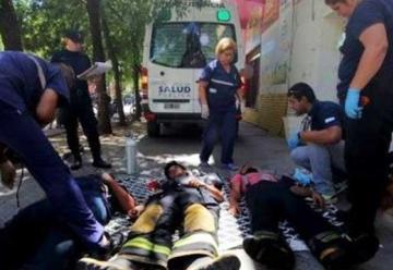 Más de 10 bomberos con asfixia tras combatir un incendio