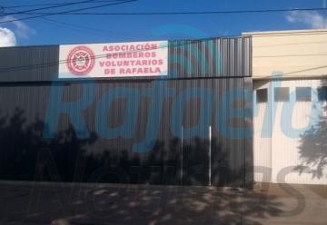 Roban elementos del cuartel de Bomberos Voluntarios de Rafaela