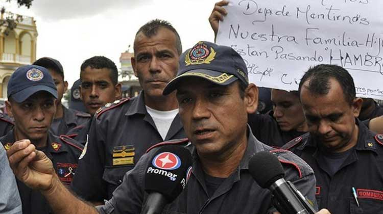 Bomberos de Iribarren protestaron para exigir ajuste salarial