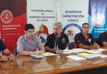 Reunión de la Federación Central de Bomberos Voluntarios del Chaco