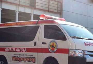 Donan ambulancia a Bomberos Voluntarios de Escuintla