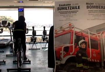 San Sebastián busca su primera mujer bombero