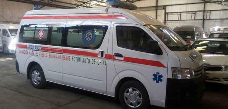 """Donan ambulancia a bomberos voluntarios """"Caballeros de Fuego"""""""