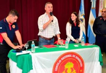 Bomberos de Corrientes se reunieron en Bella Vista