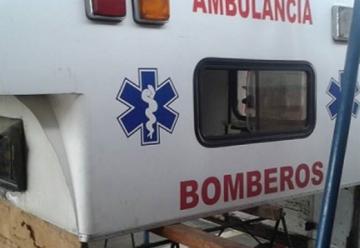 Comerciantes repararon ambulancia del Cuerpo de Bomberos