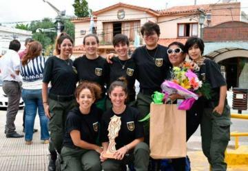 Reconocimiento a las mujeres bomberas de Merlo