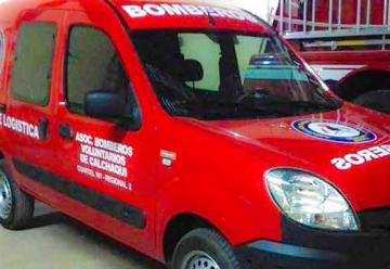 Bomberos de Calchaquí adquieren una nueva unidad de logística