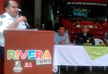 Rivera cuenta con un nuevo vehículo de bomberos