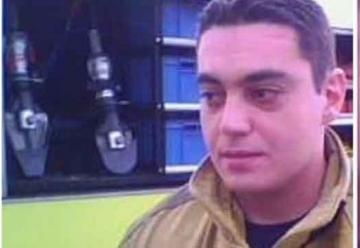 Entregarán la Cruz Dorada a familiares del bombero Luis Gramajo