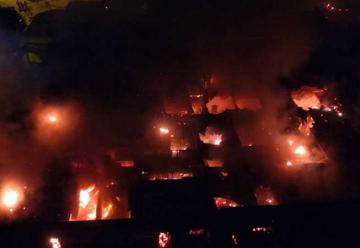 Incendio arrasó con un conventillo en Mar del Plata
