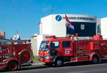 La Embajada de Japón donó 10 vehículos a Bomberos
