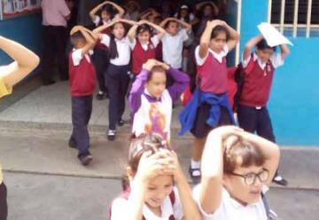 Simulacro de sismo y Bomberos resaltan Día de la Prevención Sísmica