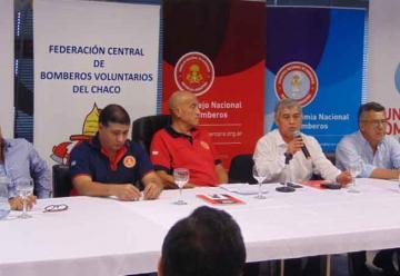 """Presentación del Proyecto """"ACERCAR"""" de Bomberos de Argentina"""
