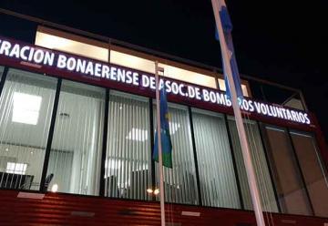 Inauguran la sede de la Federación Bonaerense de Bomberos