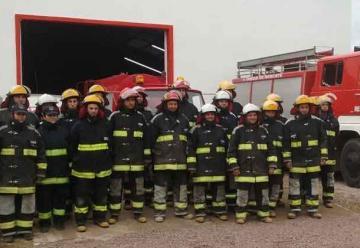Los bomberos de Felipe Solá celebran su 25º aniversario