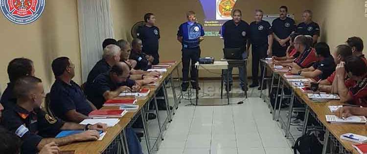 Curso de Instructores CEPI 1 en Bomberos de Olavarria