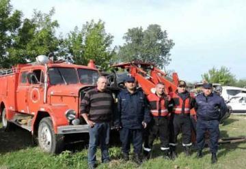 Nueva autobomba para Bomberos Voluntarios de Federación