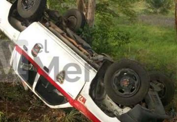 Se accidentó Carro de Bomberos de Tierralta