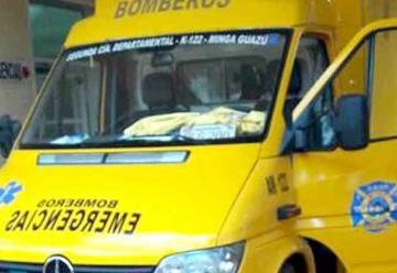Bomberos piden ayuda para reparar ambulancia