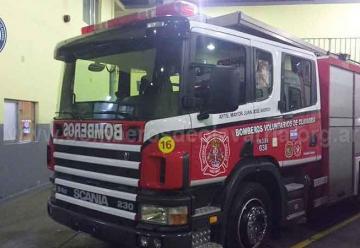 Nueva Unidad de Bomberos de Olavarriapara incendio estructurales