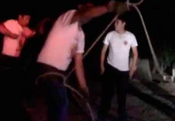 Bomberos Voluntarios se capacitan en rescates nocturnos