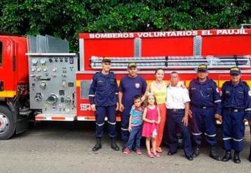 Entregaron moderno vehículo para Bomberos en El Paujil