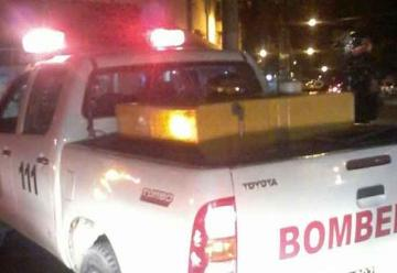 Bomberos voluntarios sufrieron el robo de una motobomba