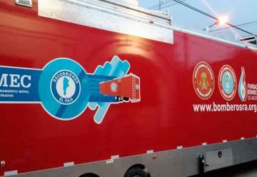 Bomberos de once cuarteles se capacitaron en Roque Pérez
