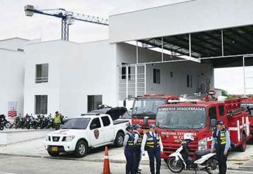 Dosquebradas estrena estación de bomberos