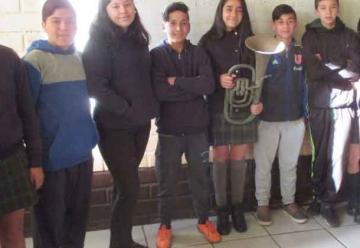 """Bomberos de Iquique recupera """"Bombardino"""" con más de un siglo de historia"""