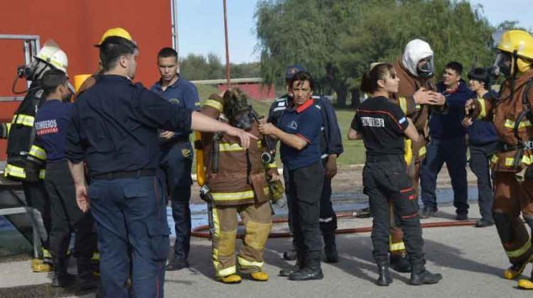 Resultado de imagen para bomberos de El Trapiche, San Luis