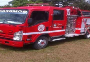 Embargan carro de bomberos del municipio de Ortega