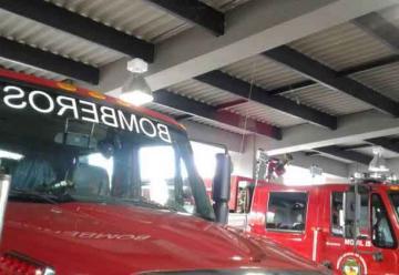 Sin mantenimiento permanecen los vehículos de bomberos de Armenia