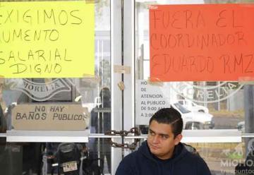 Tras promesa de realizar mesa de diálogo, bomberos de Morelia levantan toma